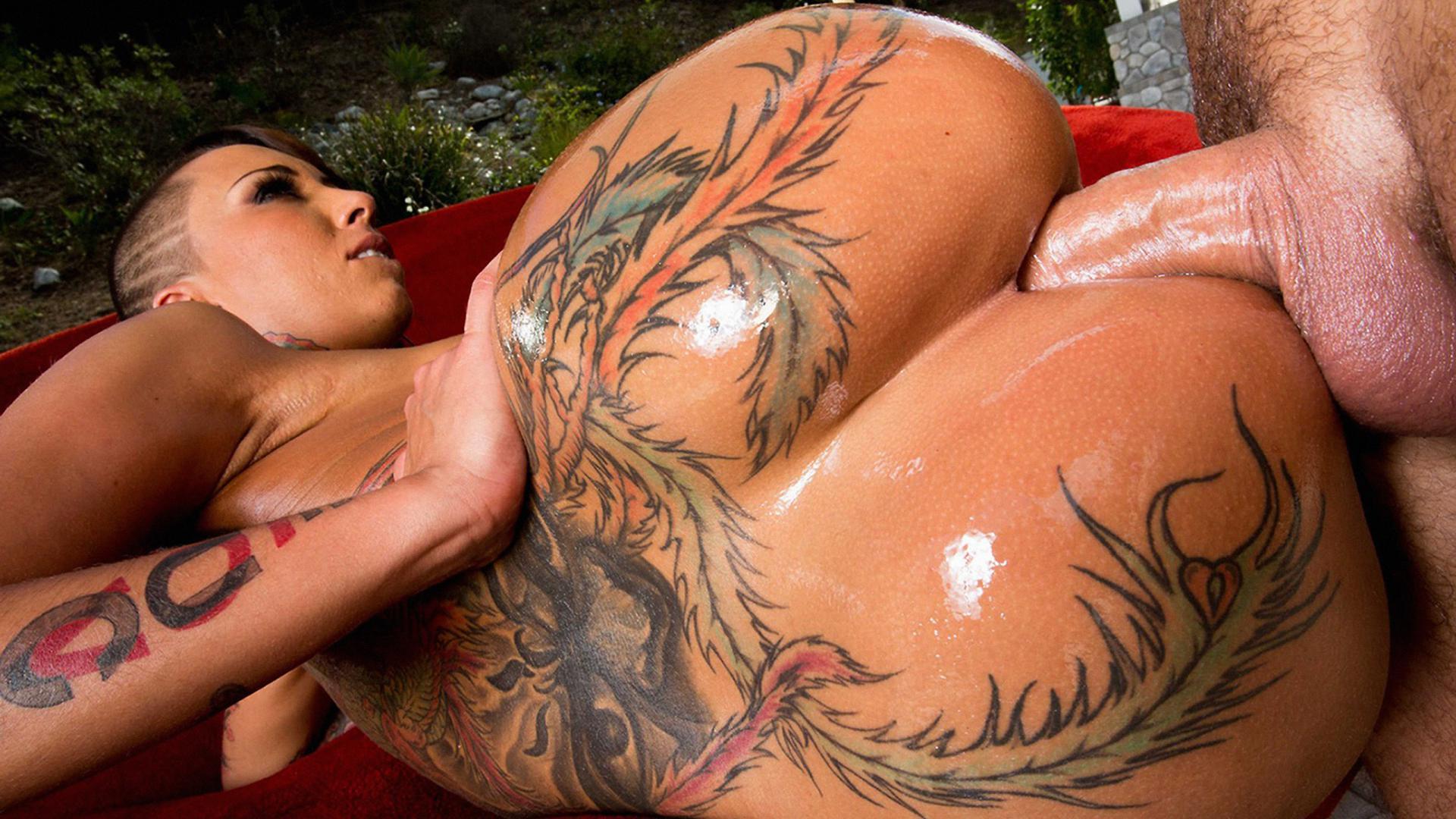 Sexy Tätowierung anal — bild 9