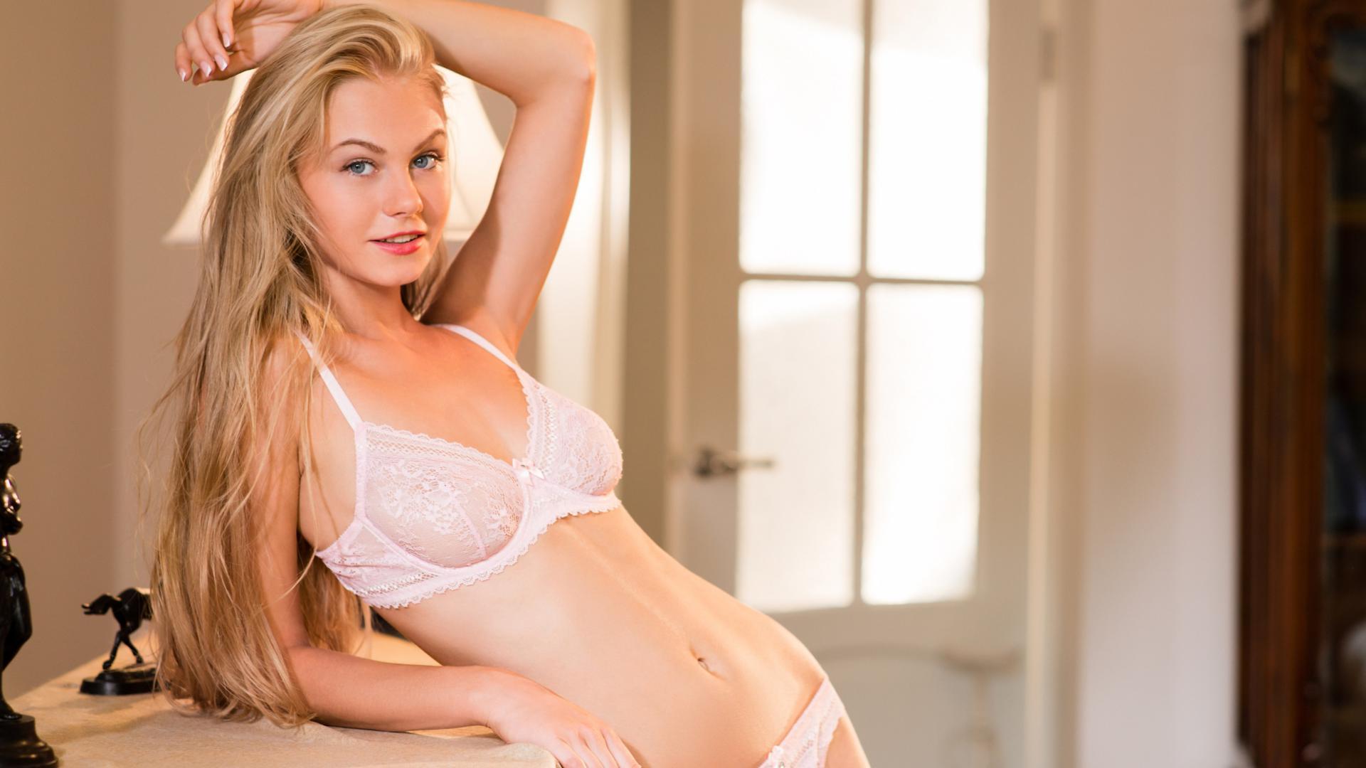 Download photo 1920x1080, nancy a, blonde, sexy girl