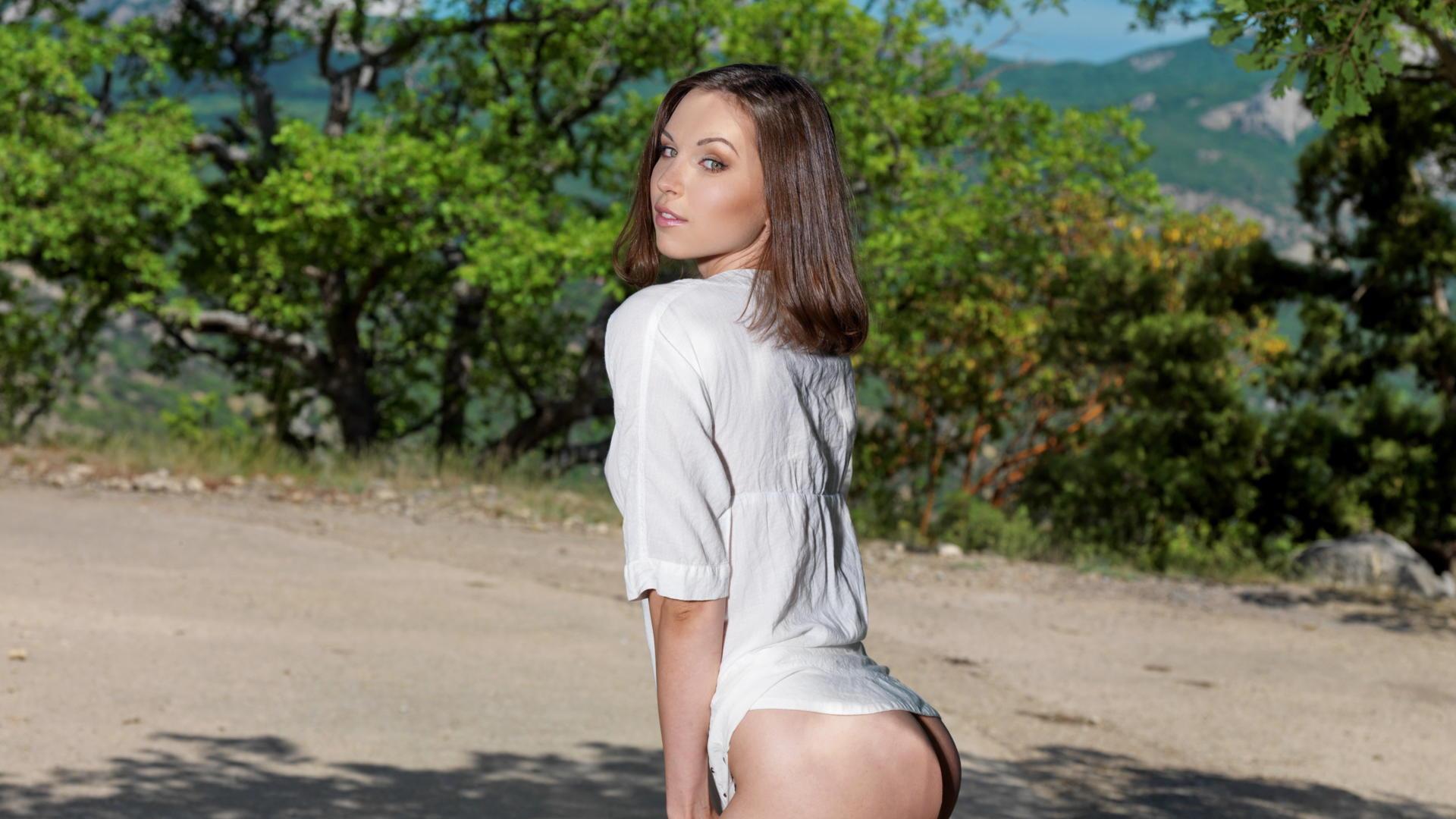 Download photo 1920x1080, anita e, brunette, sexy girl
