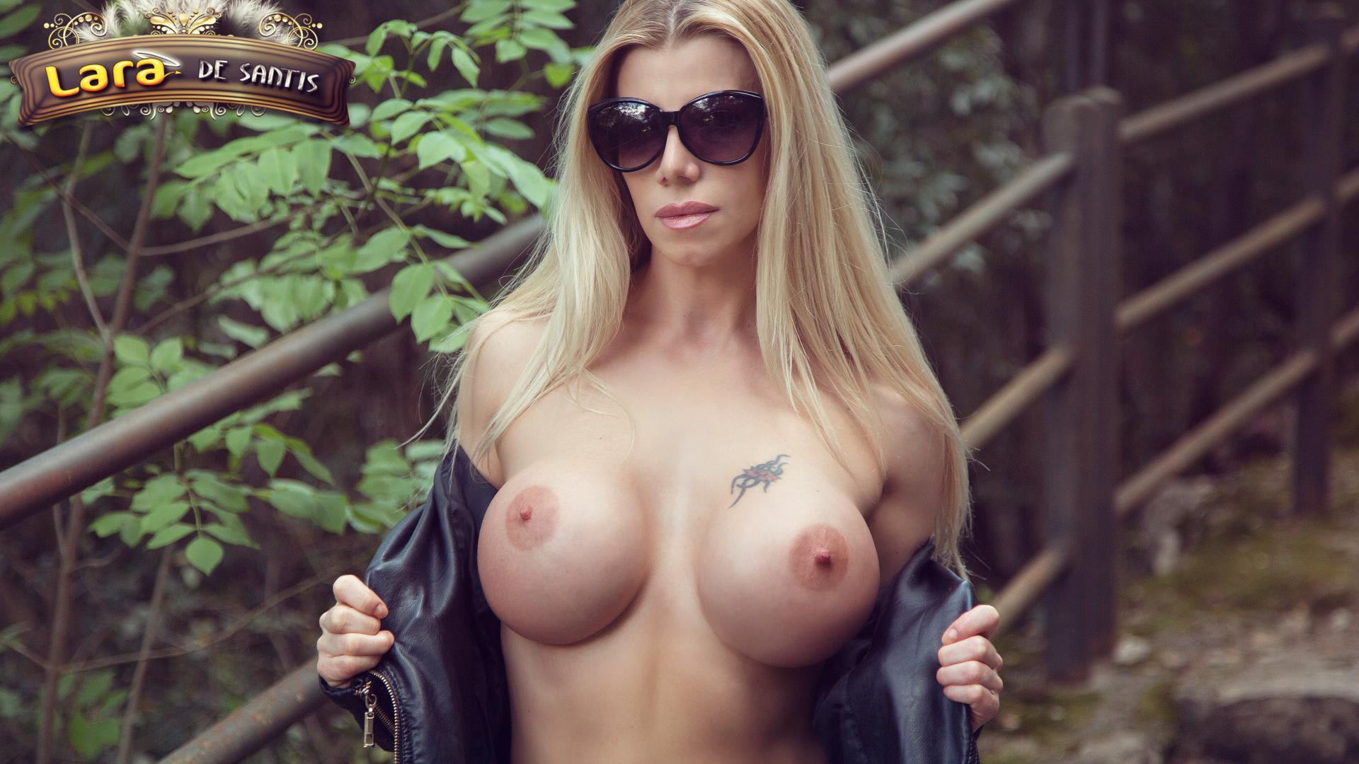 Babe Lara Porn Star download photo 1920x1080, lara de santis, big boobs, tits