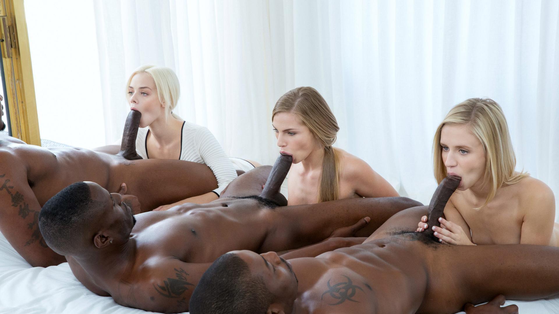 blonde girl asleep naked