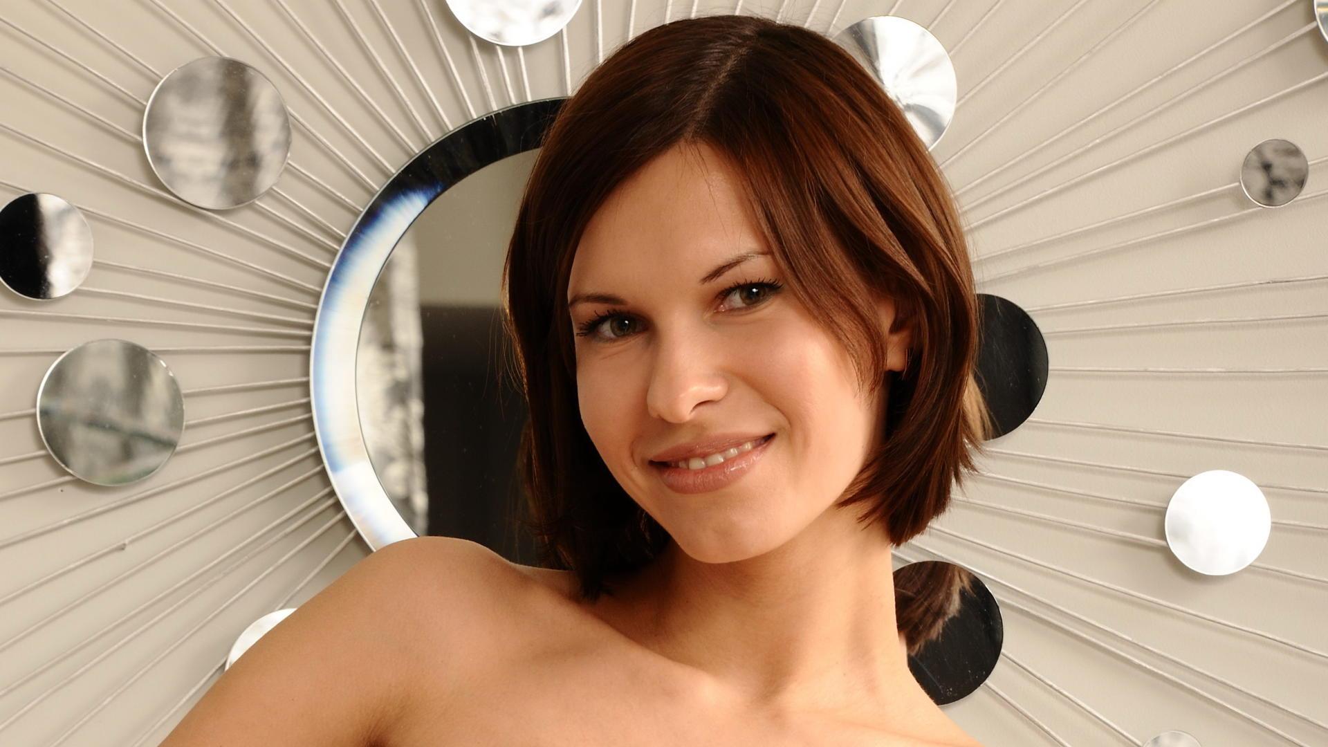Wallpaper suzanna a, brunette, smile, face, nadia p, susi